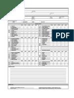 Checklist Escavadeira