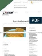 Rote (Cake à La Semoule) - Ti' Karaii