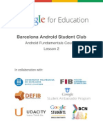 Android Student Club - Android Fundamentals Course (Lesson 2)