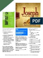 Joseph 2 Gen 35 Handout 101115