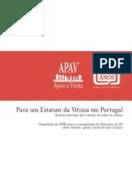 Para Um Estatuto Da Vitima Em Portugal