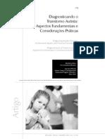 Diagnosticando o Transtorno Autista