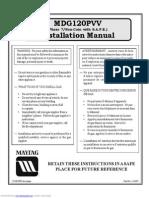 Mdg120phvw Installation Instruction