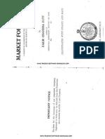Fakir Chandra Dutt - Market Forcasting