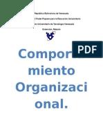 Comportamiento Organizacional Trabajo