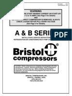 Bristol Changing All Compressors