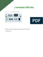 Perbedaan Transistor NPN Dan PNP