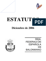 Estatutos Rfebm-diciembre 2006