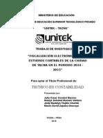 Trabajo Investigación Fiscalización Electrónica Final