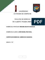 Derechos Humanos y la reforma del 2011 en México