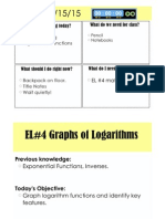 el 4 graphing logarithm notes