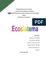 Trabajo Ecosistema