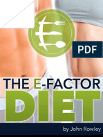E-factor Diet Free PDF (truncated Edition)