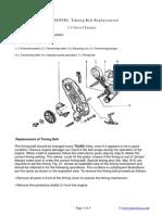 Fiat(SOFIM) Timing Belt Replacement