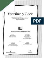 III-ESCRIBIR Y LEER. Materiales y recursos para el aula. III. EDELVIVES.pdf