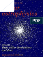Bohmvitense e Introduction to Stellar Astrophysics Volume 1