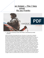 Americian Sniper - 7 Key Areas