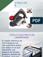Cepillo Electrico de Carpinteria