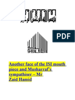 Another face of the ISI mouth piece and Musharraf's sympathiser – Mr Zaid Hamid