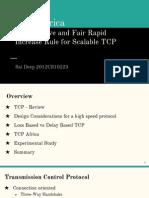 TCP Africa Summary