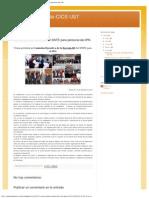 Sindicato Docente-CICS UST_ Nueva Sección Sindical Del SNTE Para Personal Del IPN