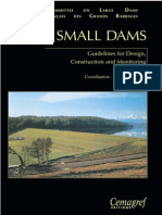 French Committee - Guidelines for Design Small Dams