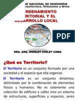 El Ordenamiento Territorial y El Desarrollo Local
