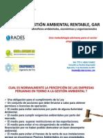 Gestión Ambiental Rentable, Gar - Ing. Tito