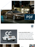 Volkswagen CC 2015 Brochure
