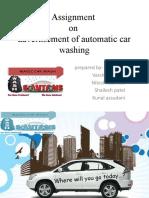 presentation on automatic car wash