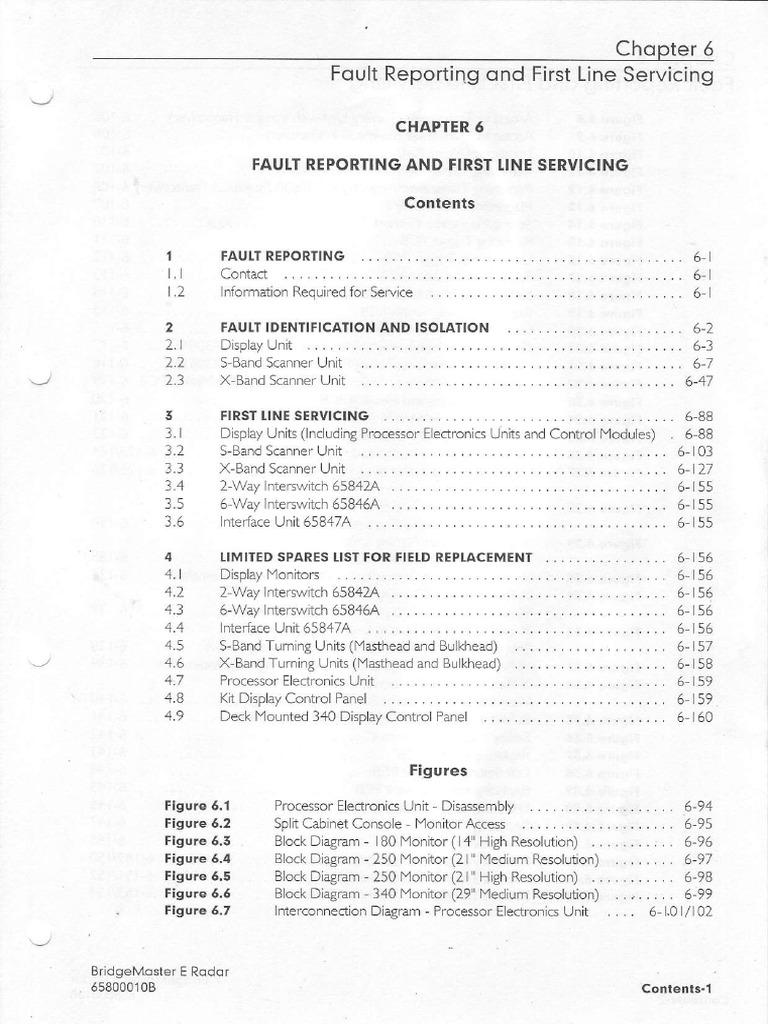 RADAR BRIDGE MASTER ''E'' Series Radar Ship's Manual   Electrical  Engineering   Radio