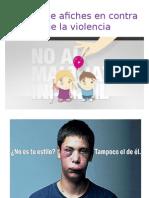 Tipos de Afiches en Contra de La Violencia