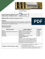 Modelo de Plano de Aula para EBD