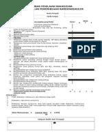 Checklist Pemeriksaan Kardiovaskular