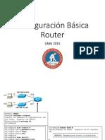 Configuración Básica Router