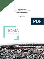2anni di Urbanistica Roma Documento