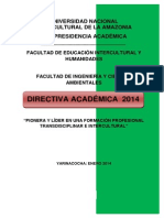 Directiva Académica Joel