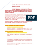 Praximetrias 6 y 7