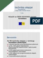Dr. Zsiga Zoltán - NC technika alapjai (2003, 90 oldal)