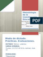Precisiones Sobre Metodología Metodos y Técnicas Reformulado