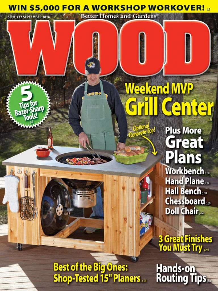 WOOD Magazine   September 2014 USA.pdf | Woodworking | Tools