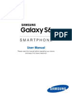 AT&T Samsung Galaxy S6 User Manual SM-G920A, English