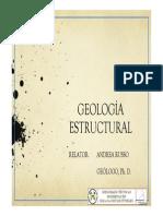 Presentación - Curso Geología Estructural