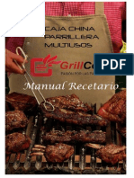 Manual Recetario Caja China Parrillera Multiusos 2014