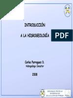 Introducción a La Hidrogeología