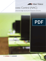 Network Access Control NAC RevE