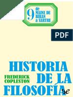 Copleston, Frederick - [Historia de La Filosofia 09] de Maine de Biran a Sartre