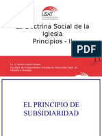 Principios de La DSI - II
