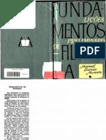 MORENTE, Manuel Garcia. Fundamentos de Filosofia.pdf