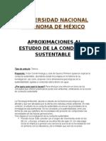 Aproximaciones Al Estudio de La Conducta Sustentable